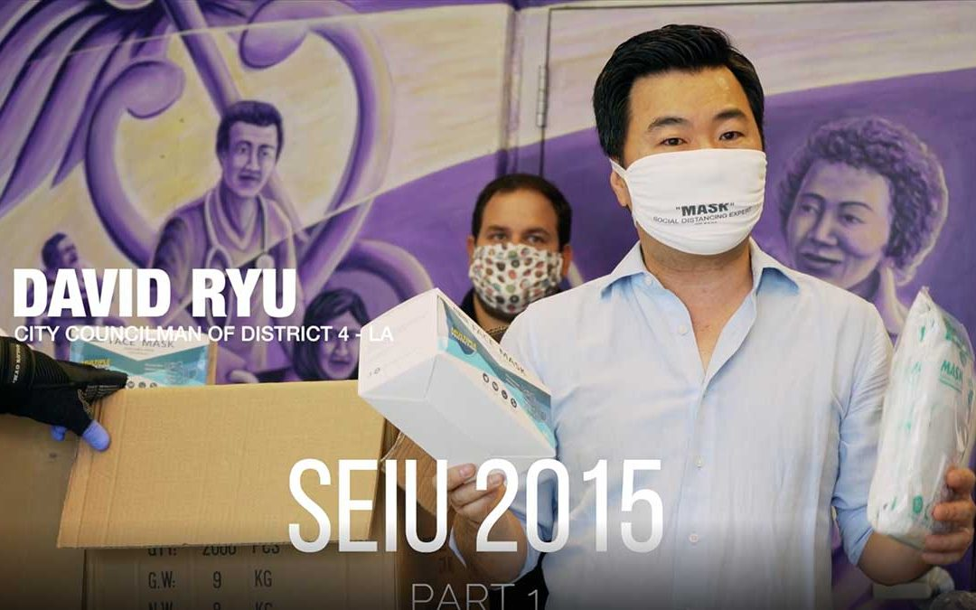 GMM PPE SEIU 2015 and Leisure Court Nursing Center Donations